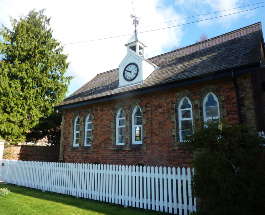 Front of the Old School House
