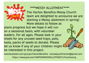 messy allotment flier