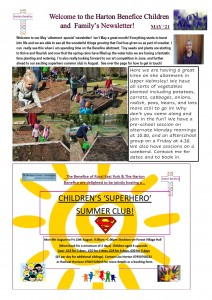 may newsletter page 1